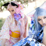 Selaine e Marika, cosplayer italiane