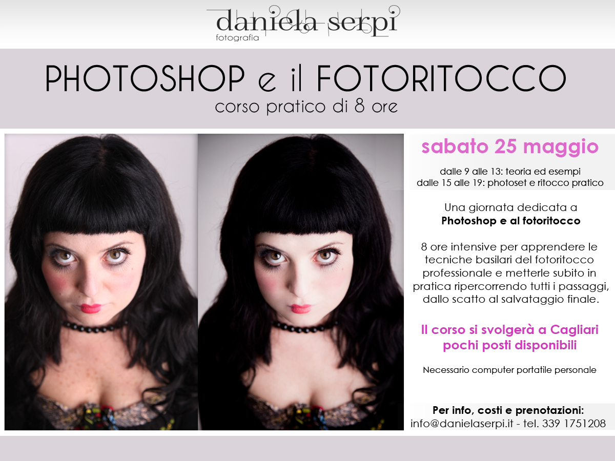 Workshop photoshop e fotoritocco